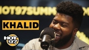 "Khalid Talks ""free Spirit,"" Style & More On Ebro In The Morning"